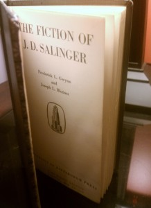 The Fiction of J. D. Salinger (library copy)